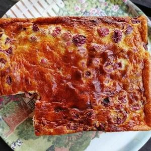Gâteau brioché à la cerise